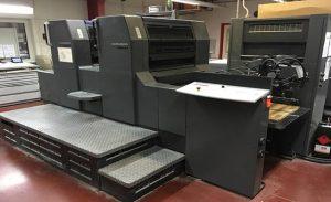 چاپ افست با دستگاه دو رنگ